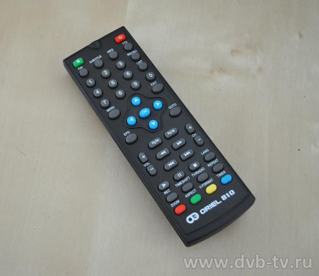 Ресивер DVB-T2 Oriel 810