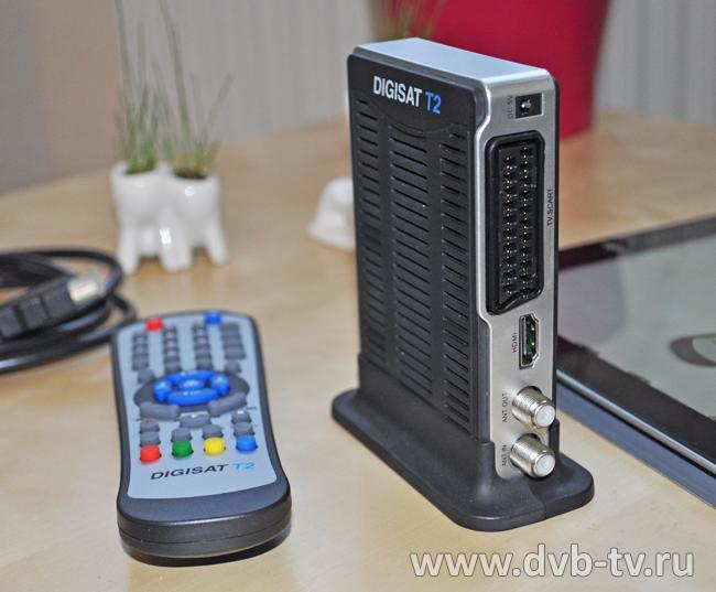 Ресивер является полностью совместимым с форматом цифрового телевидения DVB-T2