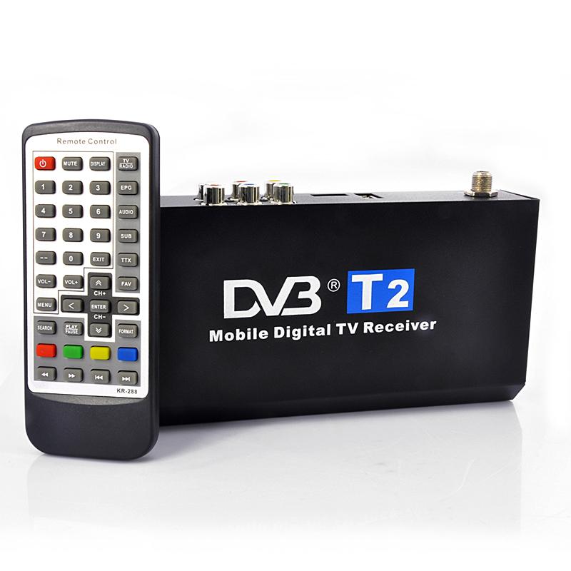 DVB-T2 ресивер для машины