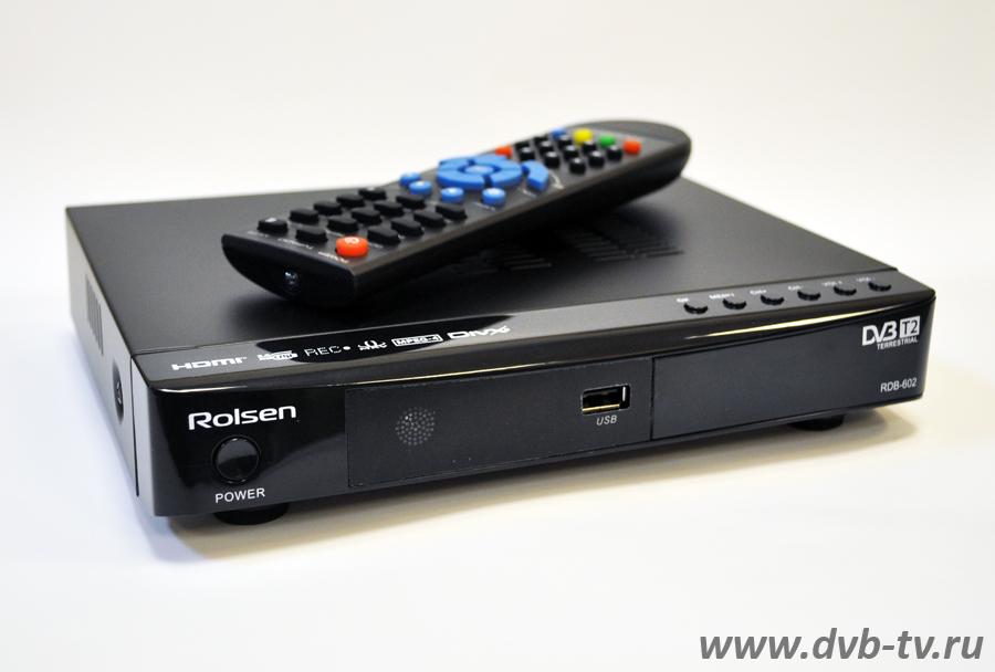 Цифровой эфирный приёмник Rolsen RDB-602