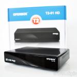 Новые DVB-T2 ресиверы Openbox T2