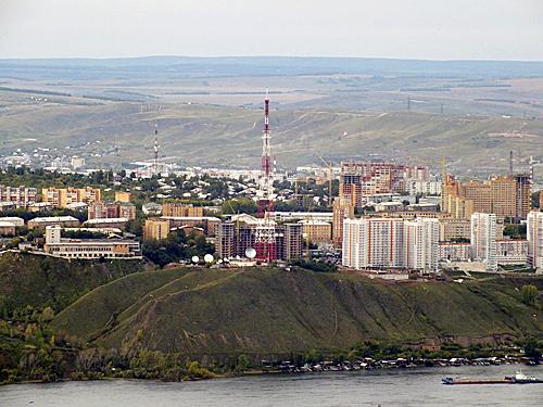 Телевышка в Красноярске
